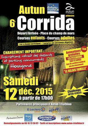 Corrida Autun 12 décembre 2015