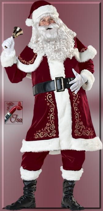 PN0008 - Tube Père Noël