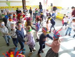 On a fêté Mardi-Gras en Maternelle CP