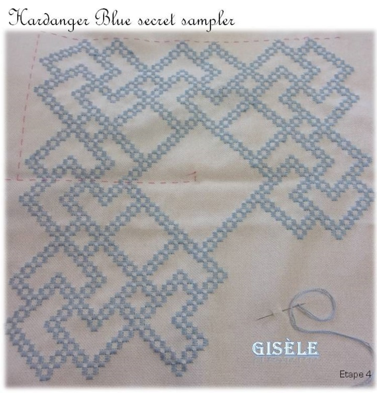Hal The Blue Secret Hardanger Sampler de Vavi (4)