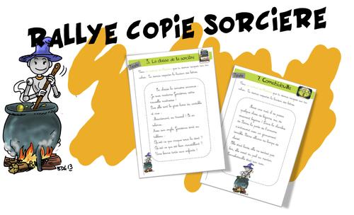 Rallye-sorcières CE1 et CE2