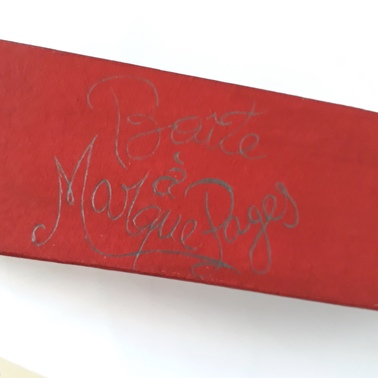 Boîte à marque pages