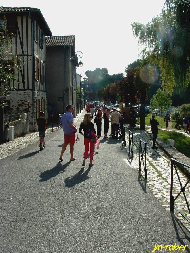 Limoges. Un dimanche ensoleillé «Grandeur Nature» sur ses Bords de Vienne