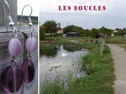 Bijoux sur le thème de la Vendée...