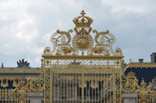 Château Grille d'entrée