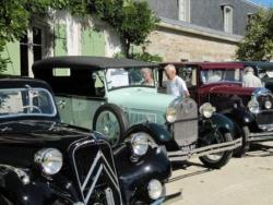 Parc de Boutiguery et expo de voitures anciennes