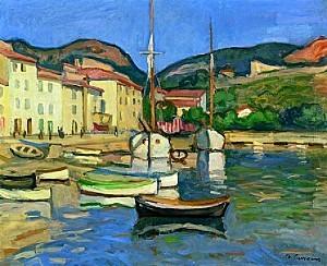 camoin-charles-le-port-de-cassis-a-la-barque-noire1905