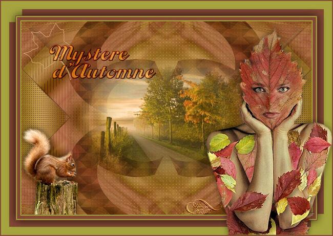 """Versions """"Mystère d'automne"""""""