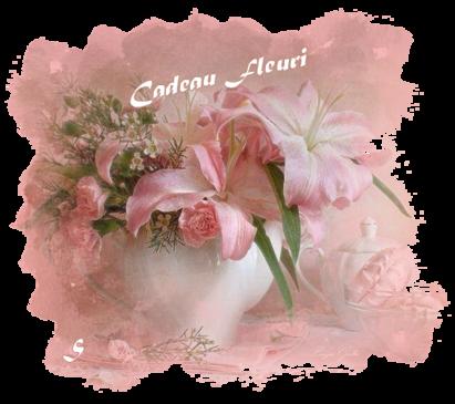 Papier IM**Cadeau fleuri**