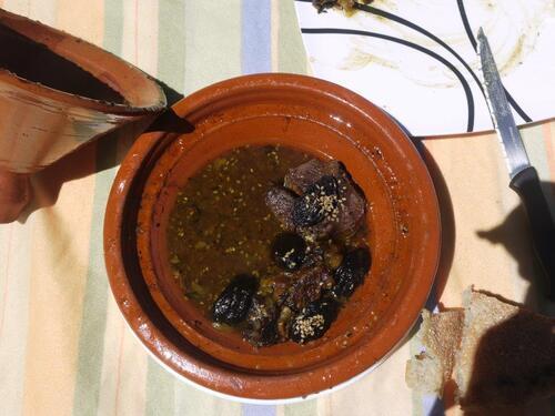 tajine de veau aux pruneaux