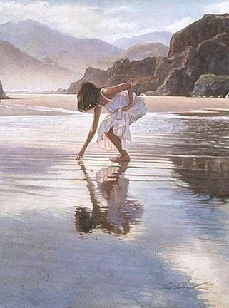 Mon amour est comme l'eau ...