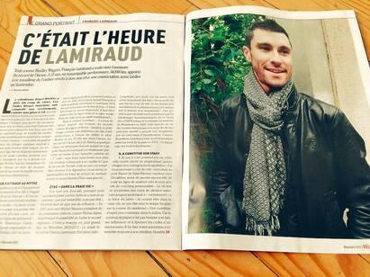 Grand Portrait dans Vélo Magazine