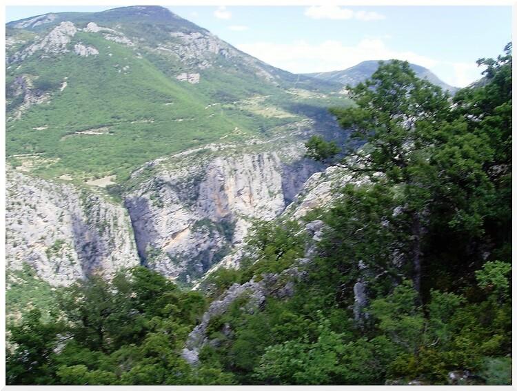 Les Gorges du Verdon.