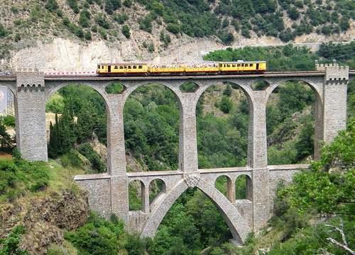 Le petit train jaune des Pyrénées