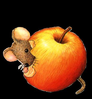 """Résultat de recherche d'images pour """"gif souris avec une pomme"""""""