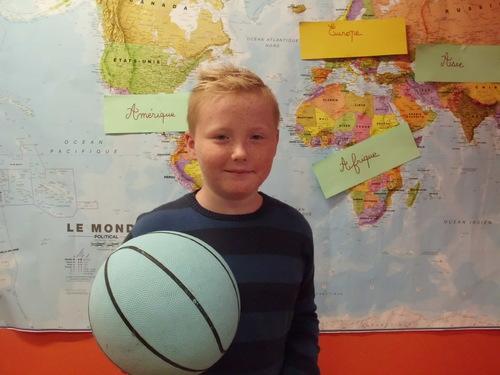 Basket Ball au collège Germinal
