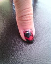 Nail art Halloween !