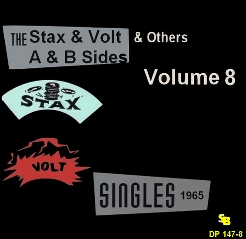 """ The Complete Stax-Volt Singles A & B Sides Vol. 8 Stax & Volt Records & Others "" SB Records DP 147-8 [ FR ]"