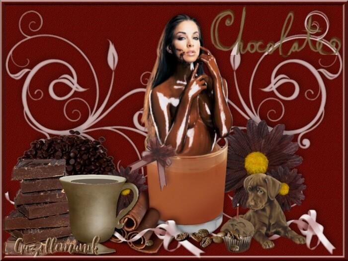 Défi de gourmandise le chocolat pour cerise déco !!!