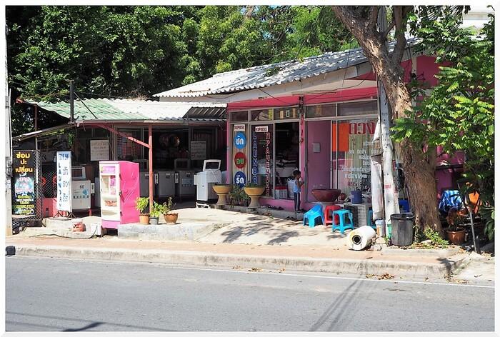 Commerces en Thaïlande.