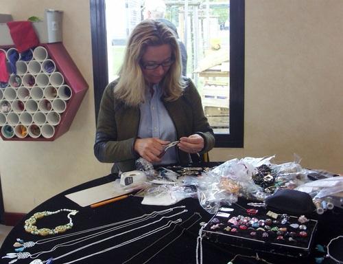 Exposition de mes bijoux à Francueil le 1er octobre 2017