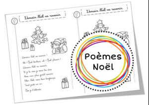 Poèmes sur le Père Noël, les rennes, les sapins etc ...