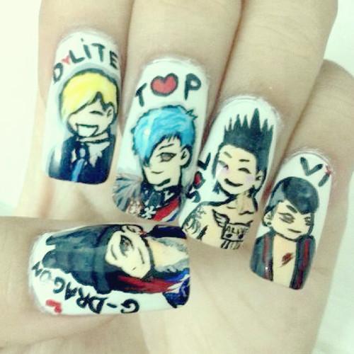 Nail Art K-pop