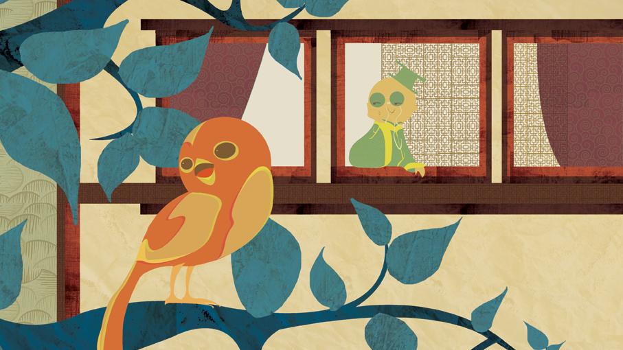 L'oiseau de l'empereur