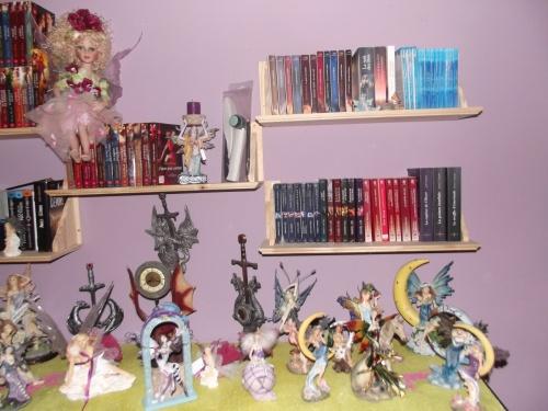 Ma bibliothèque (janvier 2013)