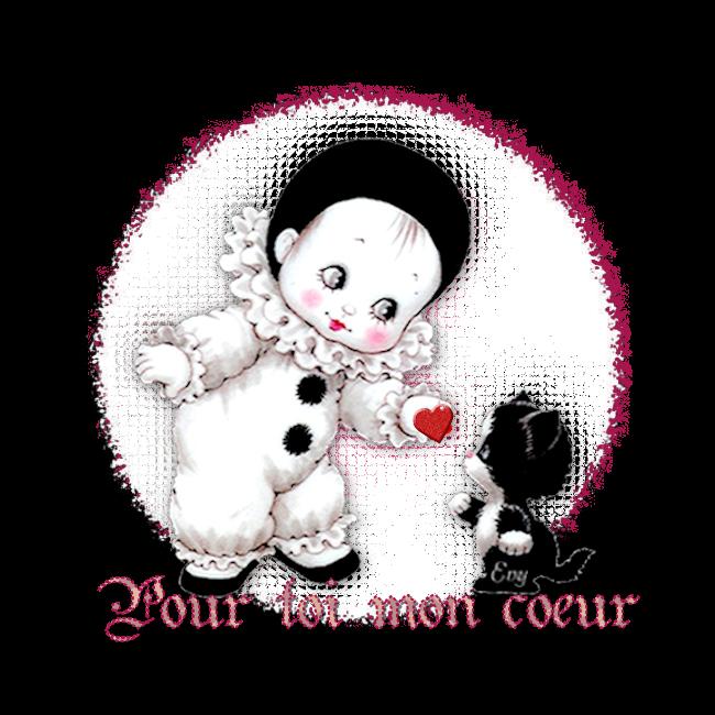 Pierrots de la st Valentin avec titis