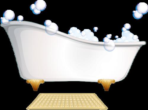 Tubes baignoires en png