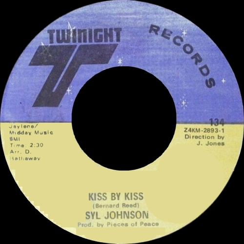 "Syl Johnson : Album "" Is It Because I'm Black "" Twinight Records LPS 1002 [ US ]"