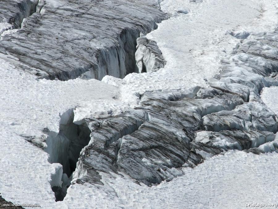 Le glacier de la Meije