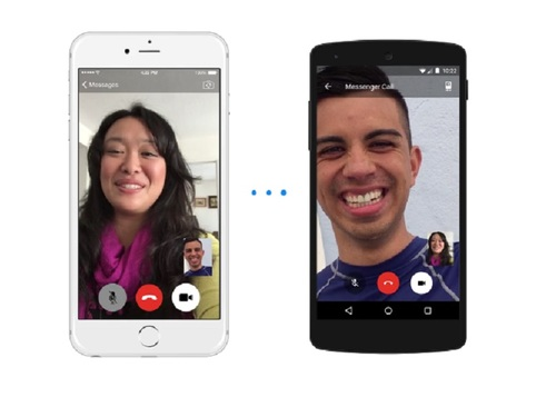 Facebook Messenger affiche le détaille des contacts