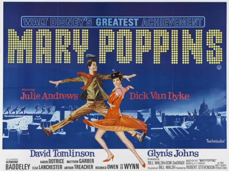 MARY POPPINS BOX OFFICE USA 1964