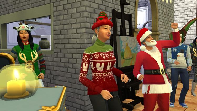 C'est Noël chez mes Sims