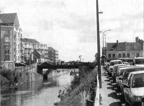 Le pont de Saint-Pierre aux XIX et XXIe siècle