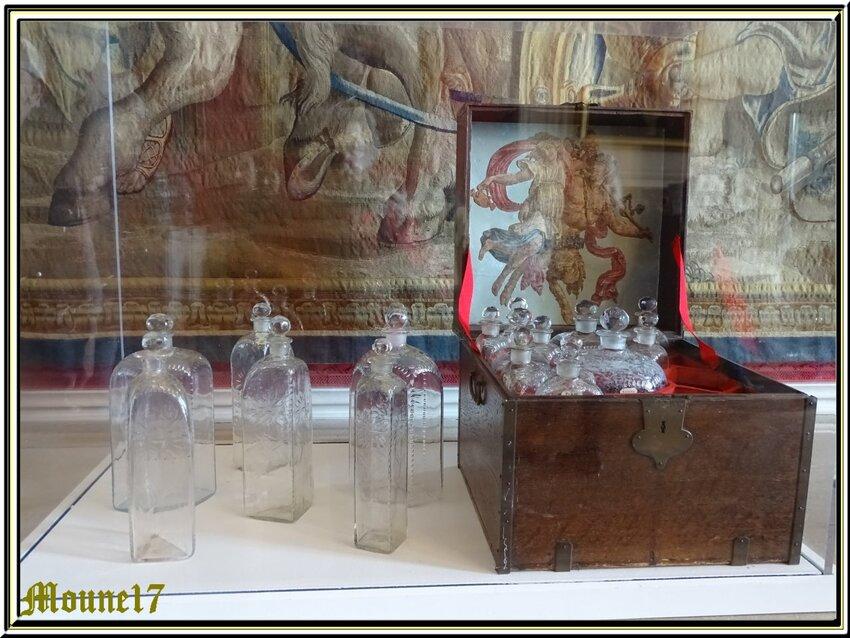 Le château de Chambord  l'intérieur 1/2