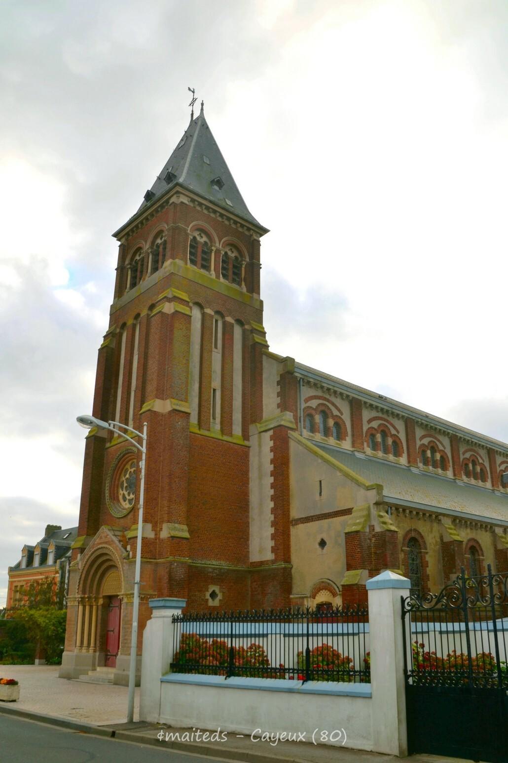 Eglise Saint-Pierre - Cayeux-sur-mer - Somme (1)