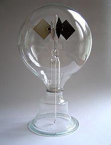 Un radiometer de Crooke