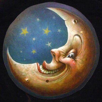 Faire un trou à la lune