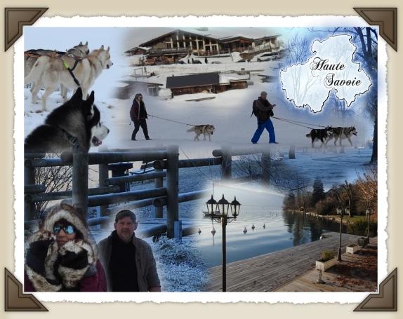 Carte souvenir de la Haute Savoie