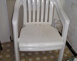 2 chaises extérieur