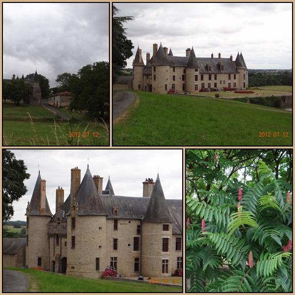 Un château dans le Poitou