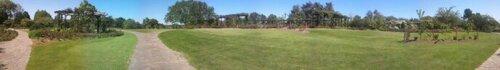 Panorama parc floral