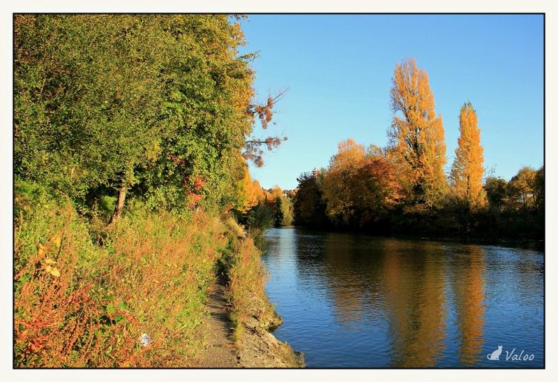 Bords de Marne à l'automne