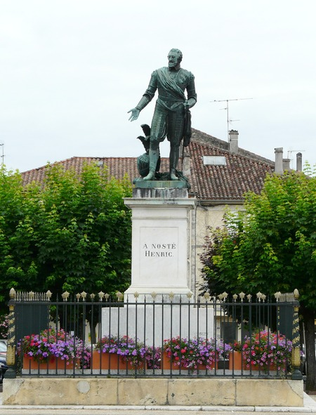 Nérac, la légende de Fleurette et Henri