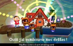 Animal Crossing dans SSB4