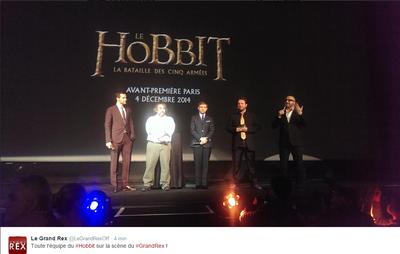 La Première du Hobbit à Paris