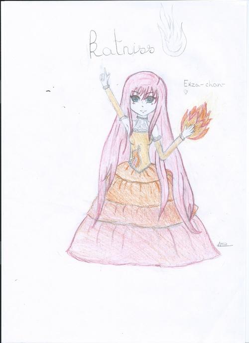 dessins Katniss et Haya